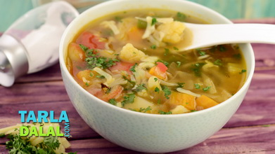 Winter Vegetable Soup Video